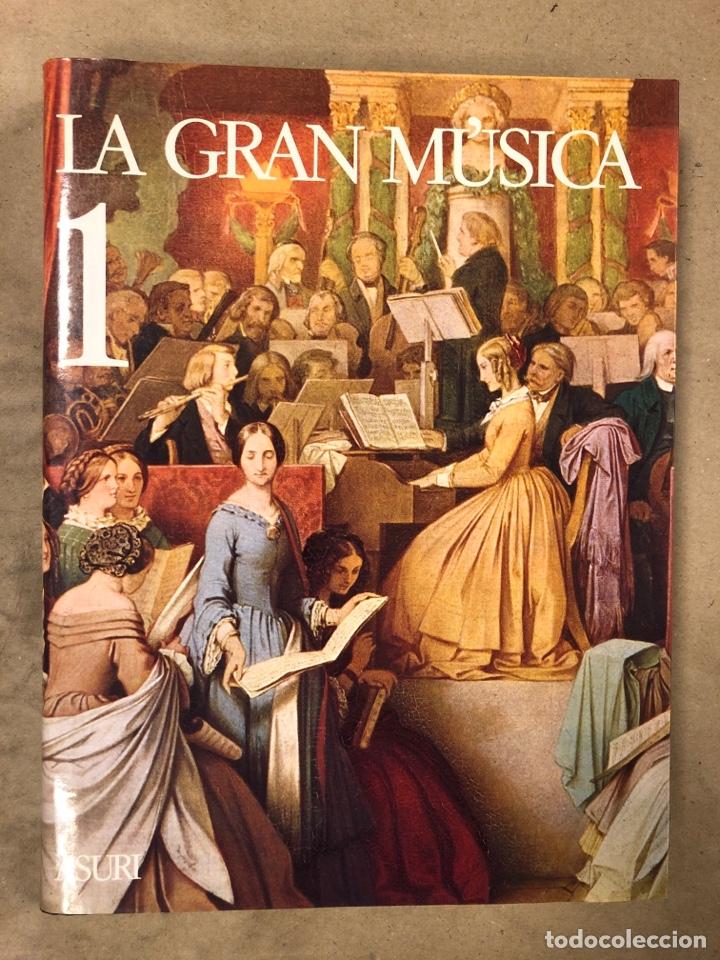 Libros de segunda mano: LA GRAN MÚSICA. 5 TOMOS (COMPLETA). ASURI DE EDICIONES 1990. ILUSTRADOS. - Foto 3 - 182705022