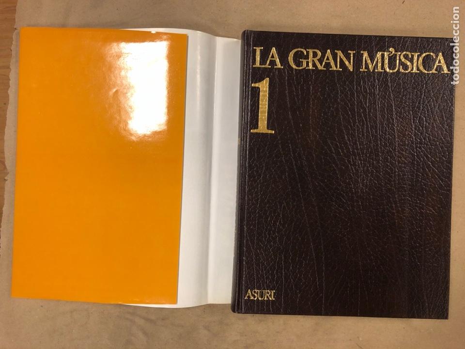 Libros de segunda mano: LA GRAN MÚSICA. 5 TOMOS (COMPLETA). ASURI DE EDICIONES 1990. ILUSTRADOS. - Foto 4 - 182705022