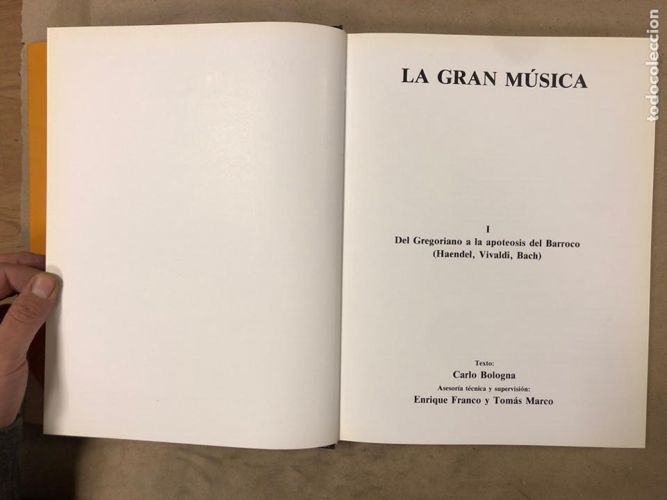 Libros de segunda mano: LA GRAN MÚSICA. 5 TOMOS (COMPLETA). ASURI DE EDICIONES 1990. ILUSTRADOS. - Foto 5 - 182705022