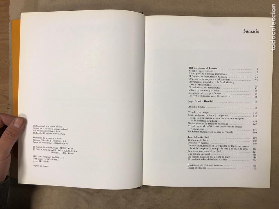 Libros de segunda mano: LA GRAN MÚSICA. 5 TOMOS (COMPLETA). ASURI DE EDICIONES 1990. ILUSTRADOS. - Foto 6 - 182705022
