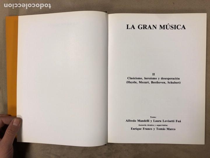 Libros de segunda mano: LA GRAN MÚSICA. 5 TOMOS (COMPLETA). ASURI DE EDICIONES 1990. ILUSTRADOS. - Foto 14 - 182705022