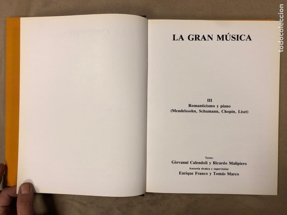 Libros de segunda mano: LA GRAN MÚSICA. 5 TOMOS (COMPLETA). ASURI DE EDICIONES 1990. ILUSTRADOS. - Foto 23 - 182705022