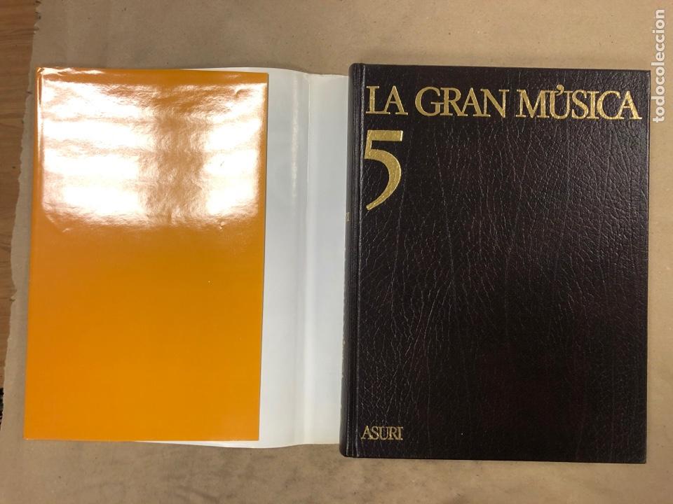 Libros de segunda mano: LA GRAN MÚSICA. 5 TOMOS (COMPLETA). ASURI DE EDICIONES 1990. ILUSTRADOS. - Foto 39 - 182705022