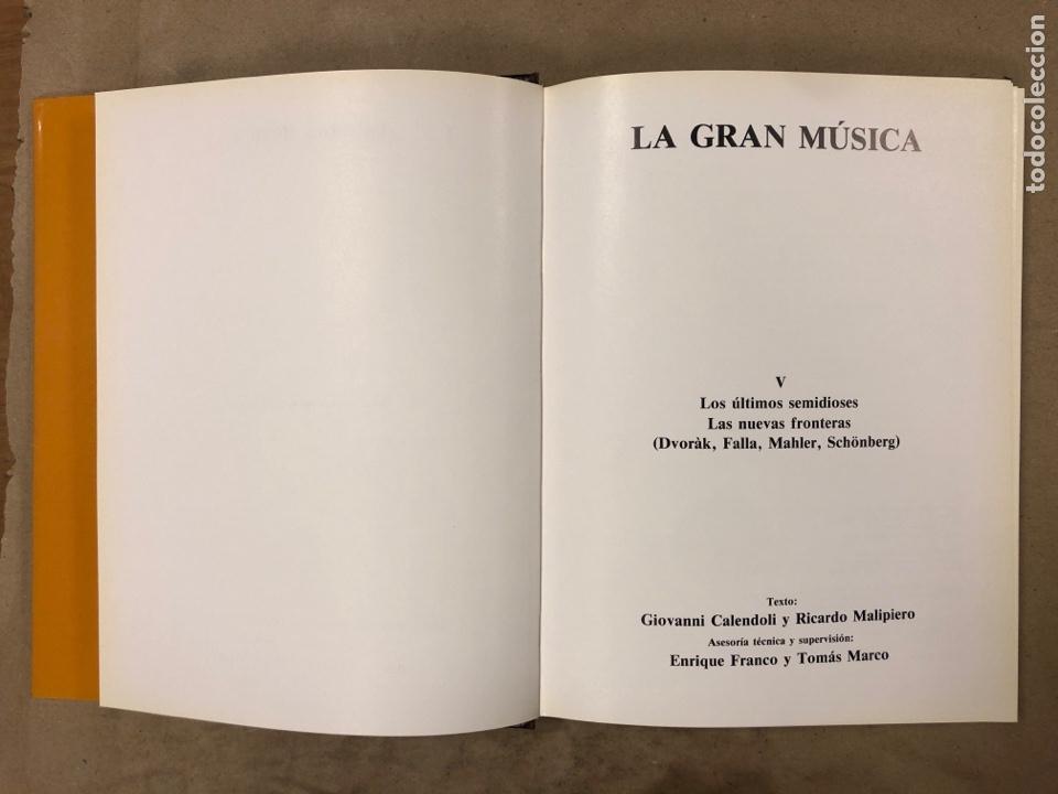 Libros de segunda mano: LA GRAN MÚSICA. 5 TOMOS (COMPLETA). ASURI DE EDICIONES 1990. ILUSTRADOS. - Foto 40 - 182705022