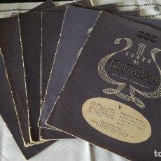 Libros de segunda mano: 58-CURSO DE GUITARRA, POR CIFRA ACOMPASADA, 1958. Lote 182731367