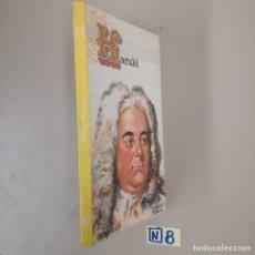 Libros de segunda mano: HAENDEL. Lote 184220807