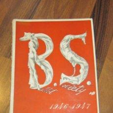 Libros de segunda mano: BALLET SOCIETI. 1946 - 1947. INCOMPLETO.. Lote 184269555