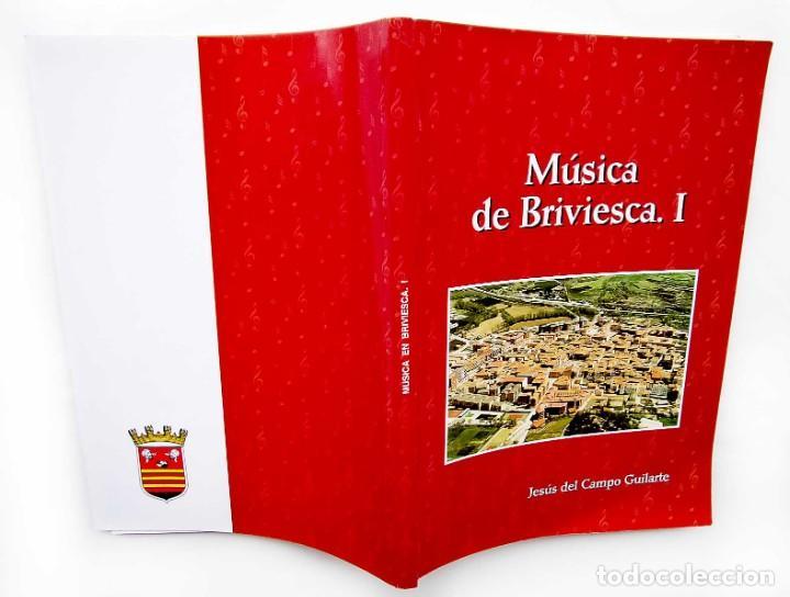 Libros de segunda mano: MÚSICA DE BRIVIESCA. I. BURGOS. AÑO: 2002. EDICIÓN NUMERADA DE 252 EJEMPLARES. - Foto 2 - 186430667