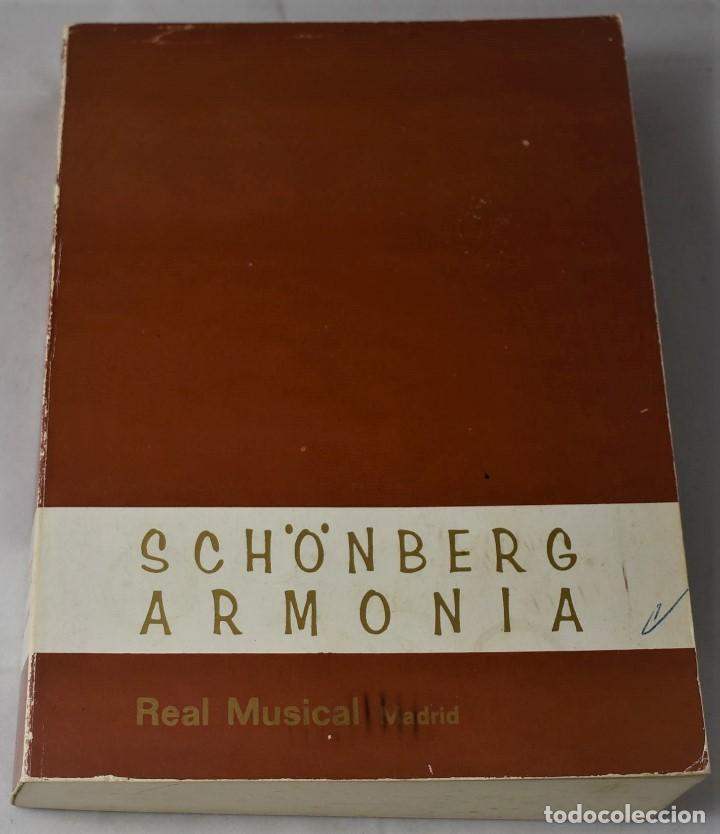 SCHÖNBERG ARMONÍA (Libros de Segunda Mano - Bellas artes, ocio y coleccionismo - Música)