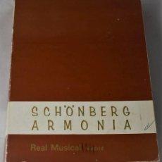 Libros de segunda mano: SCHÖNBERG ARMONÍA. Lote 187309487