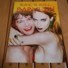 Libros de segunda mano: ROCK'N'ROLL BABYLON - ROCK 'N' ROLL BABYLON - GARY HERMAN - 150 FOTOGRAFÍAS - EN INGLÉS!!! D20. Lote 187376906