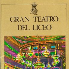 Libros de segunda mano: GRAN TEATRO DEL LICEO, TEMPORADA 1972-1973, PROGRAMA DE LA FAVORITA, CON REPARTO, ARGUMENTO, FOTOGRA. Lote 187383117