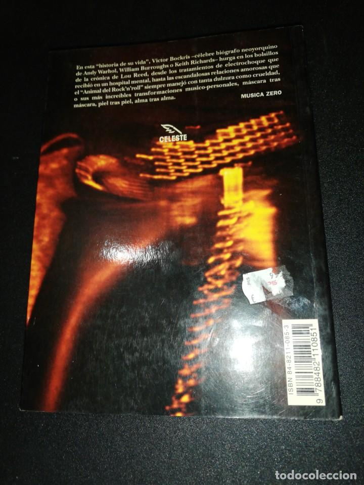 Libros de segunda mano: Víctor bockris, Lou Reed, las transformaciones de Lou Reed - Foto 2 - 187398011
