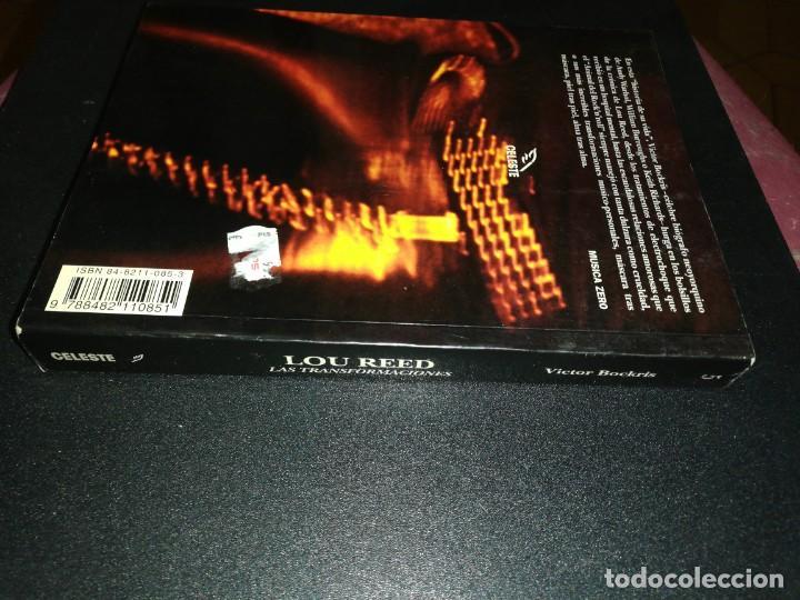 Libros de segunda mano: Víctor bockris, Lou Reed, las transformaciones de Lou Reed - Foto 3 - 187398011