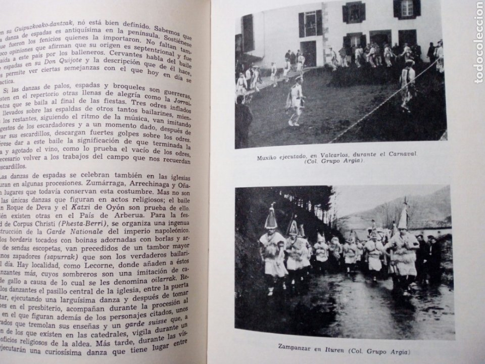 Libros de segunda mano: DE CANCIONES, DANZAS Y MUSICOS DEL PAIS VASCO (Enrique Jorda, 1978) Ed. La Gran Enciclopedia Vasca - Foto 7 - 189432263