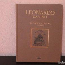 Libros de segunda mano: EL CODICE ATLANTICO POR LEONARDO DA VINCI TOMO 1. Lote 190601416