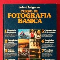 Libros de segunda mano: CURSO DE FOTOGRAFÍA BÁSICA. Lote 190999763