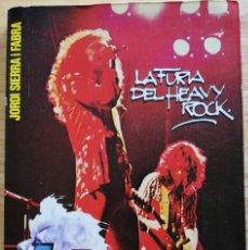 Libros de segunda mano: LED ZEPPELIN -LA FURIA DEL HEAVY ROCK -1979 JORDI SIERRA I FABRA - MUY RARO. Lote 191662692