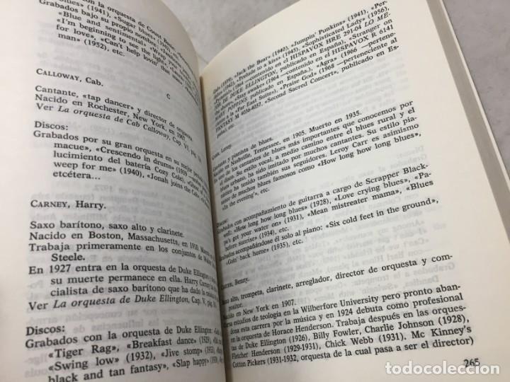 Libros de segunda mano: EL JAZZ - HISTORIA, CARACTERISTICAS, VOCABULARIO, DICCIONARIO, DISCOGRAFIA - RICARDO GILI - Foto 5 - 191712398