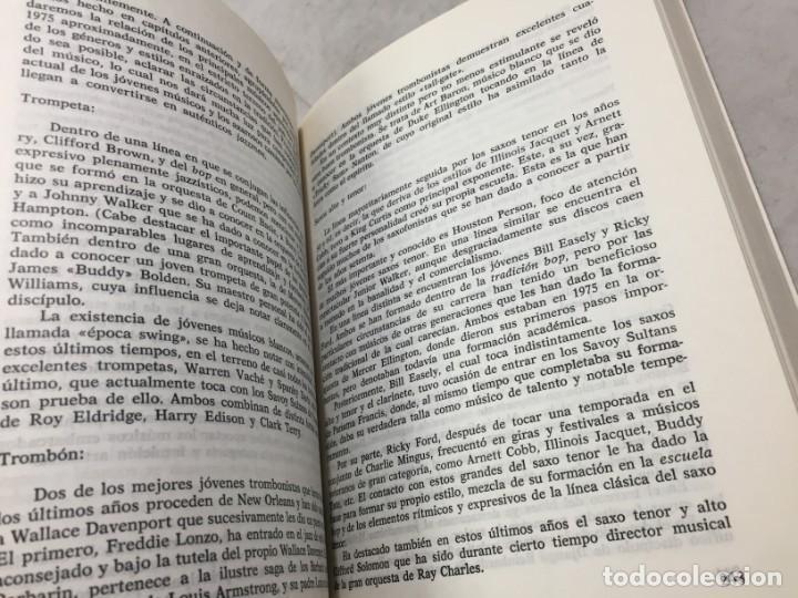 Libros de segunda mano: EL JAZZ - HISTORIA, CARACTERISTICAS, VOCABULARIO, DICCIONARIO, DISCOGRAFIA - RICARDO GILI - Foto 6 - 191712398