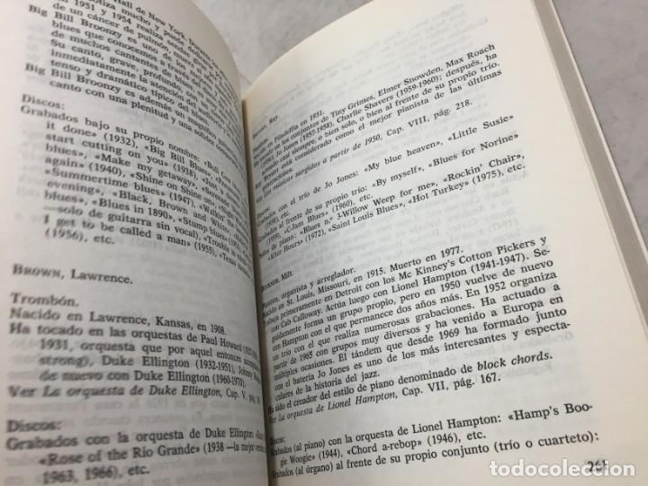 Libros de segunda mano: EL JAZZ - HISTORIA, CARACTERISTICAS, VOCABULARIO, DICCIONARIO, DISCOGRAFIA - RICARDO GILI - Foto 7 - 191712398