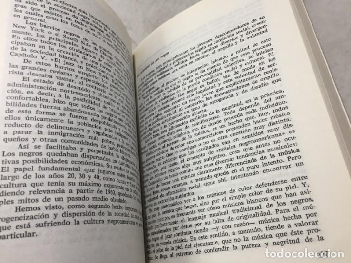 Libros de segunda mano: EL JAZZ - HISTORIA, CARACTERISTICAS, VOCABULARIO, DICCIONARIO, DISCOGRAFIA - RICARDO GILI - Foto 8 - 191712398