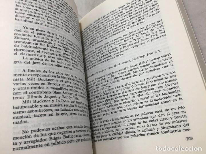 Libros de segunda mano: EL JAZZ - HISTORIA, CARACTERISTICAS, VOCABULARIO, DICCIONARIO, DISCOGRAFIA - RICARDO GILI - Foto 10 - 191712398