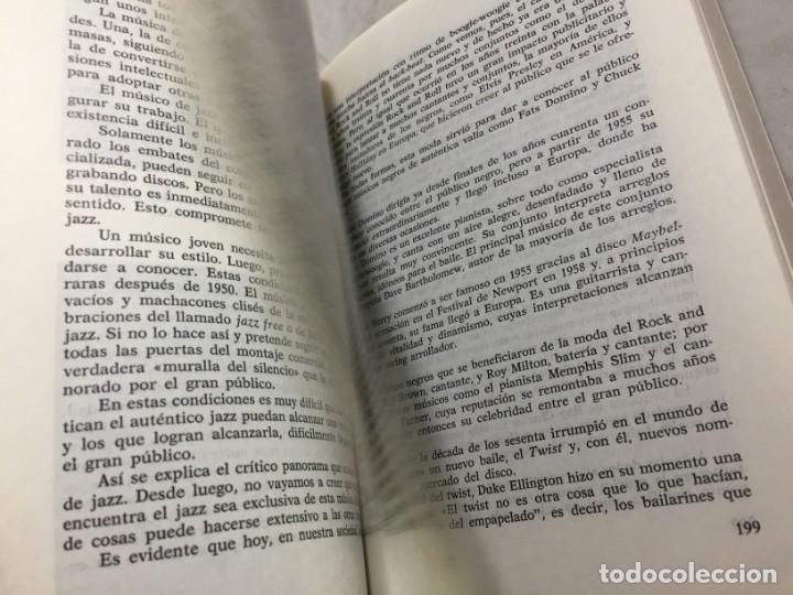 Libros de segunda mano: EL JAZZ - HISTORIA, CARACTERISTICAS, VOCABULARIO, DICCIONARIO, DISCOGRAFIA - RICARDO GILI - Foto 11 - 191712398