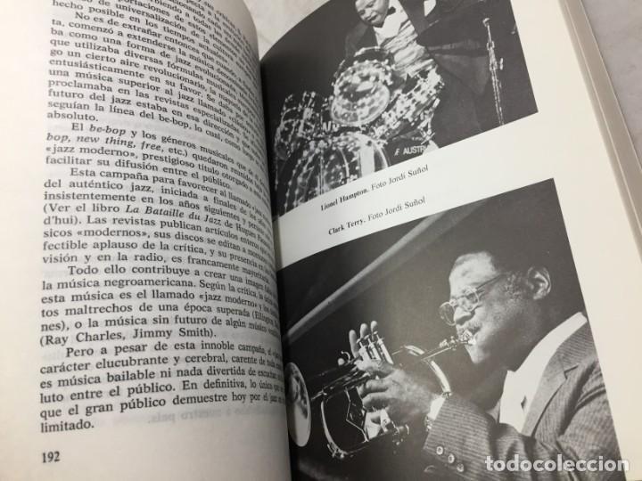 Libros de segunda mano: EL JAZZ - HISTORIA, CARACTERISTICAS, VOCABULARIO, DICCIONARIO, DISCOGRAFIA - RICARDO GILI - Foto 13 - 191712398