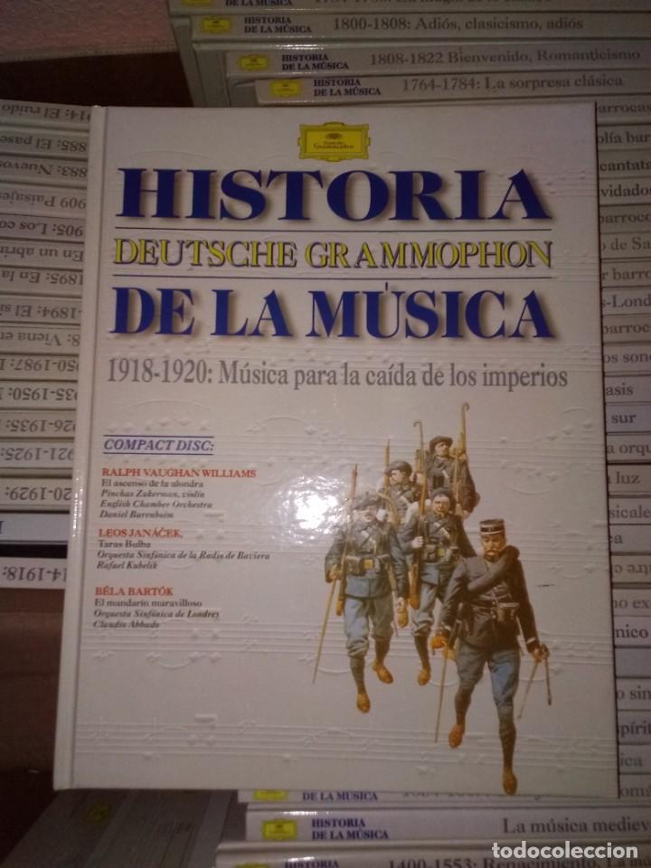 HISTORICA COLECCION DE 50 LIBROS DE LA DEUTSCHE GRAMMOPHON. TODOS CON CD EN EL INTERIOR PERFECTO. (Libros de Segunda Mano - Bellas artes, ocio y coleccionismo - Música)