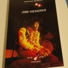 Libros de segunda mano: JIMI HENDRIX / MUNIESA, MARIANO. Lote 191904078