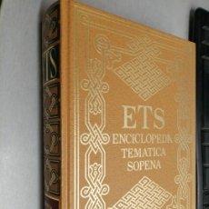 Libros de segunda mano: ENCICLOPEDIA TEMÁTICA SOPENA: MUSICA Y DANZA / EDITORIAL RAMÓN SOPENA 1991. Lote 191911877