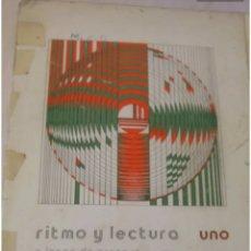 Libros de segunda mano: RITMO Y LECTURA 1, ENCARNACIÓN LÓPEZ DE ARENOSA. Lote 210543713