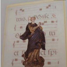 Libros de segunda mano: IV CICLO DE CANTO GREGORIANO 1992. IGLESIA SAN MIGUEL. CUENCA. Lote 192028618