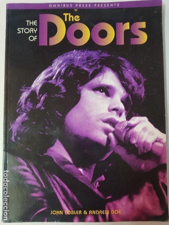 THE STORY OF THE DOORS - OMNIBUS PRESS - AÑO 1996 - EN INGLÉS (ILUST) (Libros de Segunda Mano - Bellas artes, ocio y coleccionismo - Música)
