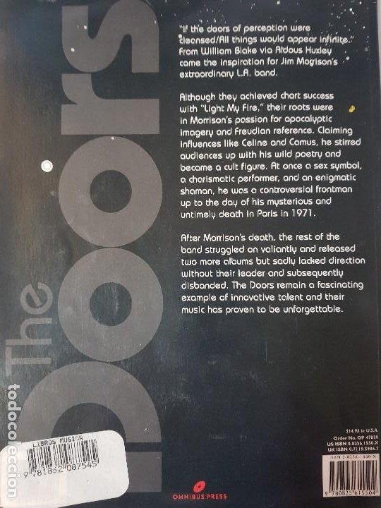 Libros de segunda mano: THE STORY OF THE DOORS - Omnibus Press - AÑO 1996 - EN INGLÉS (ILUST) - Foto 13 - 122644575