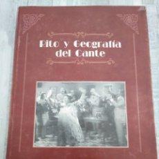 Libros de segunda mano: RITO Y GEOGRAFÍA DEL CANTE - ALGA (1997) - FLAMENCO - ANTONIO PARRA PUJANTE (DIR), VARIOS AUTORES. Lote 193386120
