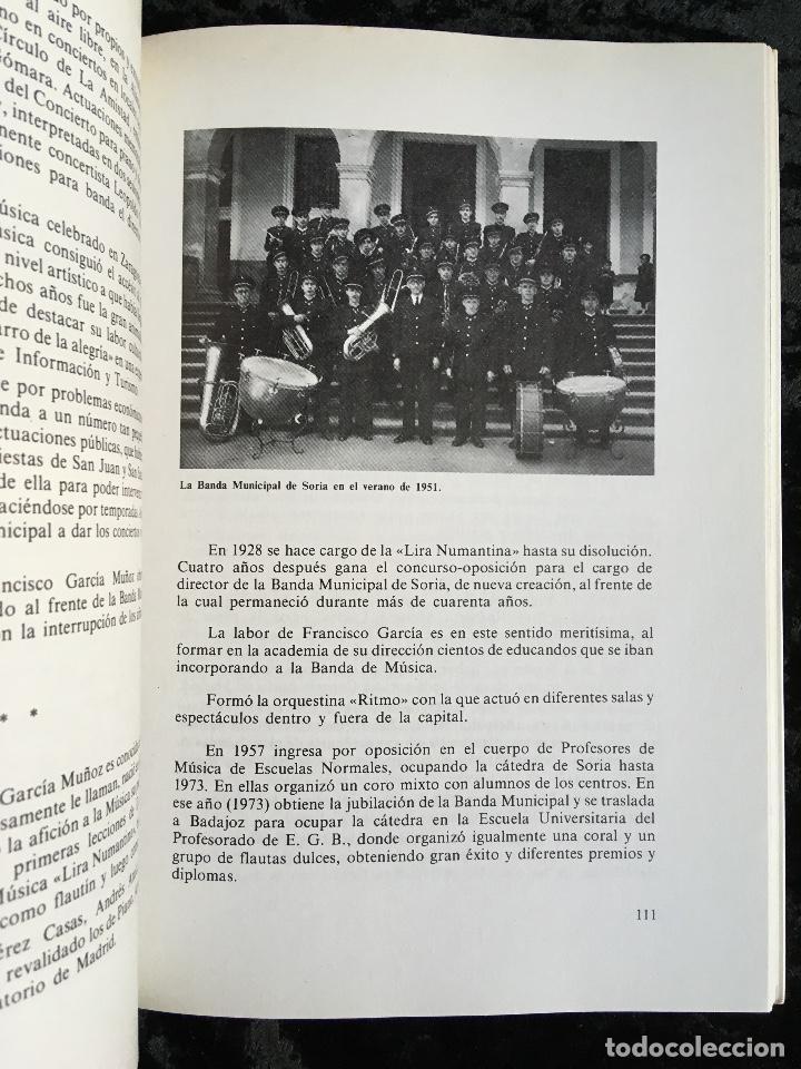 Libros de segunda mano: LA MÚSICA EN SORIA - FRANCISCA GARCÍA REDONDO - 1983 - fotografías - partituras - Foto 2 - 194072871