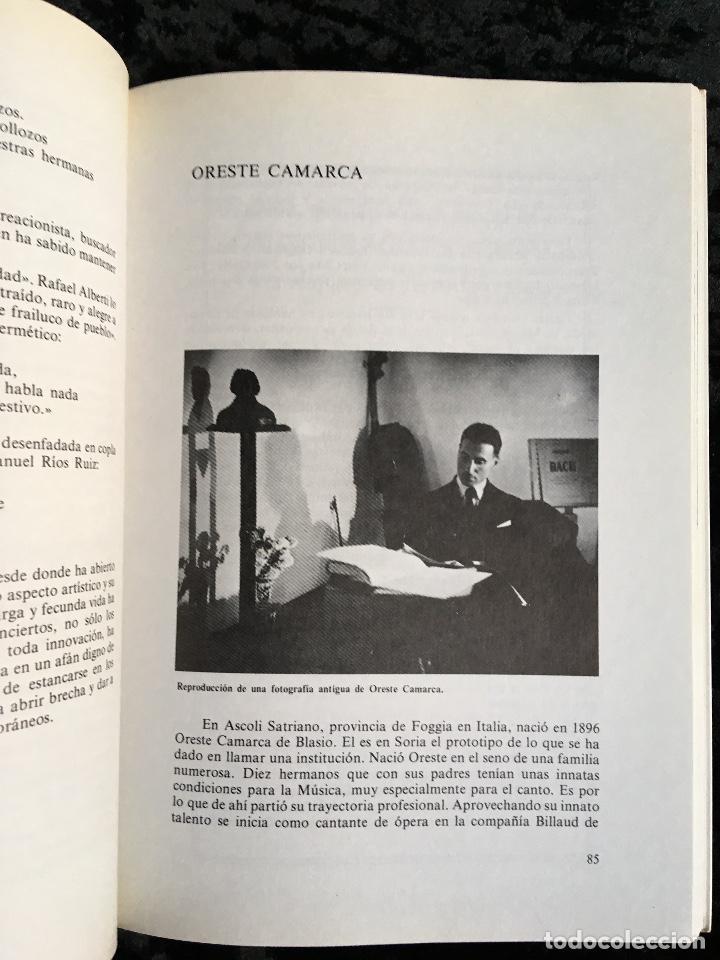 Libros de segunda mano: LA MÚSICA EN SORIA - FRANCISCA GARCÍA REDONDO - 1983 - fotografías - partituras - Foto 3 - 194072871