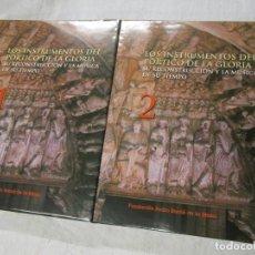 Libros de segunda mano: LOS INSTRUMENTOS DEL PÓRTICO DE LA GLORIA. SU RECONTRUCCIÓN Y LA MÚSICA DE SU TIEMPO - LOPEZ CALO, J. Lote 194158688