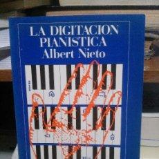 Libros de segunda mano: LA DISTINCION PIANISTA ALBERTO NIETO, MATER MUSICA. Lote 194289426