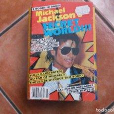 Libros de segunda mano: MICHAEL JACKSON , SECRET WORLD, EN INGLES, 50 FOTOS,DESCONOZCO LA FECHA DE PUBLICACION. Lote 194380121