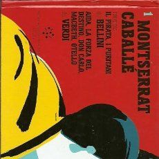 Libros de segunda mano: 1 MONTSERRAT CABALLE . Lote 194584061
