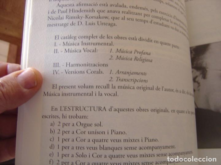 Libros de segunda mano: OBRES COMPLETES. MÚSICA ORIGINAL. PERE JOSEP MATAS I BOVER (1934-1998). SA POBLA, MALLORCA 2007 - Foto 13 - 194650948