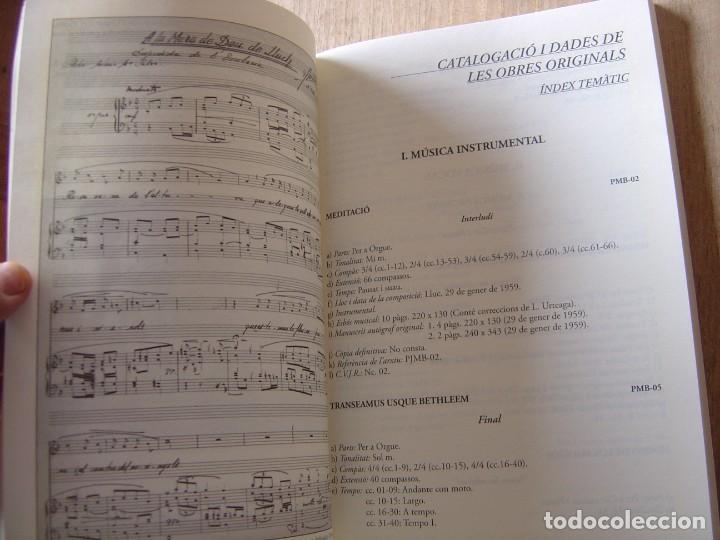 Libros de segunda mano: OBRES COMPLETES. MÚSICA ORIGINAL. PERE JOSEP MATAS I BOVER (1934-1998). SA POBLA, MALLORCA 2007 - Foto 14 - 194650948