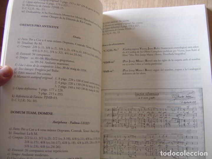 Libros de segunda mano: OBRES COMPLETES. MÚSICA ORIGINAL. PERE JOSEP MATAS I BOVER (1934-1998). SA POBLA, MALLORCA 2007 - Foto 15 - 194650948