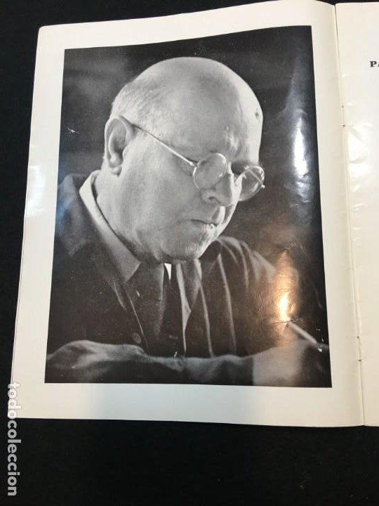 Libros de segunda mano: Thétre du Capitole. Pablo Casals. 2,3 et 4 Octobre 1962. El Pessebre. Dedicatorias Autógrafas. - Foto 2 - 194871223