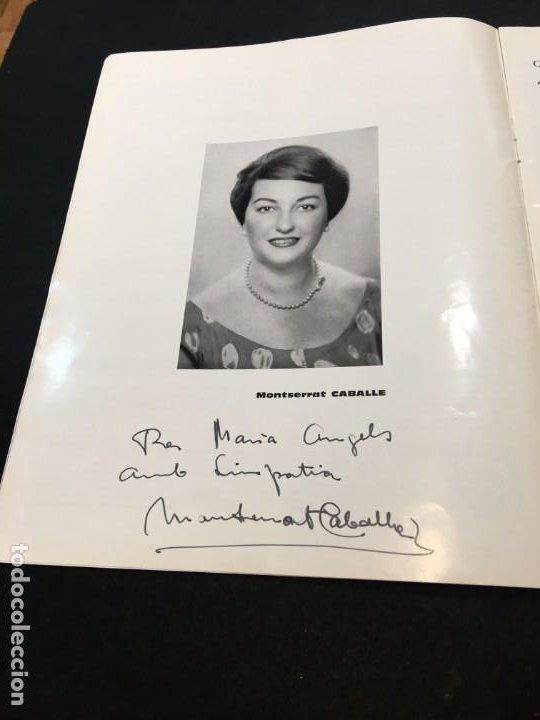 Libros de segunda mano: Thétre du Capitole. Pablo Casals. 2,3 et 4 Octobre 1962. El Pessebre. Dedicatorias Autógrafas. - Foto 3 - 194871223