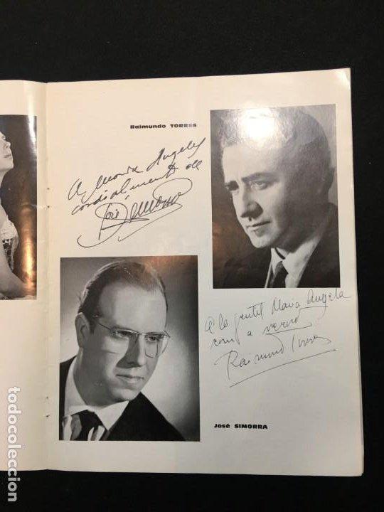 Libros de segunda mano: Thétre du Capitole. Pablo Casals. 2,3 et 4 Octobre 1962. El Pessebre. Dedicatorias Autógrafas. - Foto 4 - 194871223