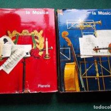 Libros de segunda mano: LA MUSICA PLANETA 2 TOMOS. Lote 195560732